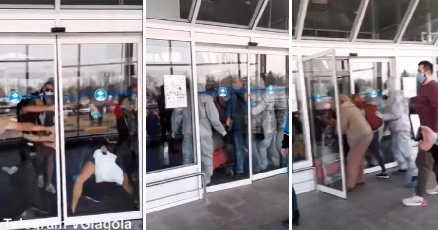 Украинцы, прилетевшие из Вьетнама, с боем вырвались из аэропорта