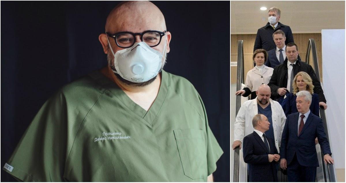 Заболевший коронавирусом главврач Коммунарки записал обращение