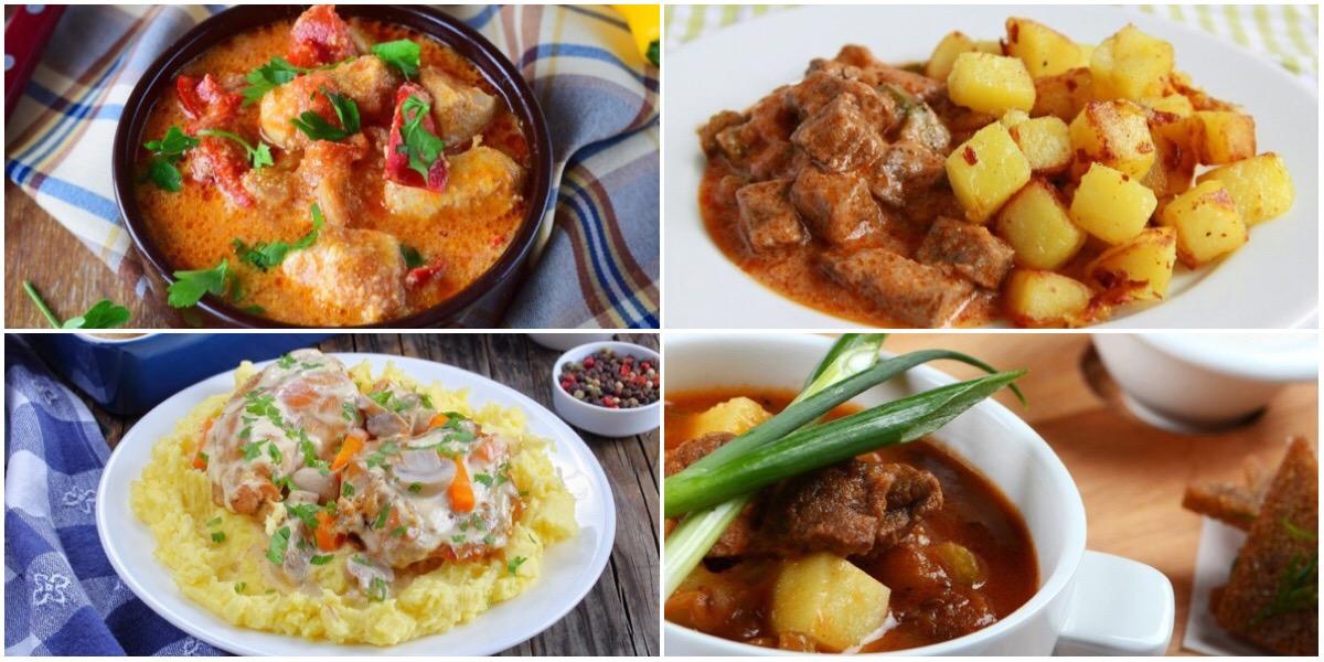 ТОП-7 рецептов тушеного мяса с картофелем