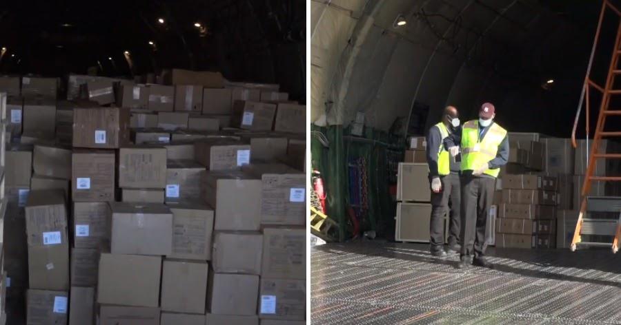 Фото Небесплатный самолет: США пояснили, что купили помощь у России
