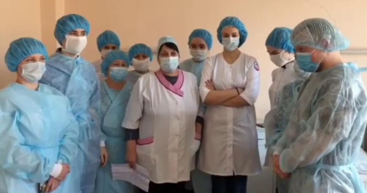 Бунт в Покровской больнице: врачам велели лечить без средств защиты