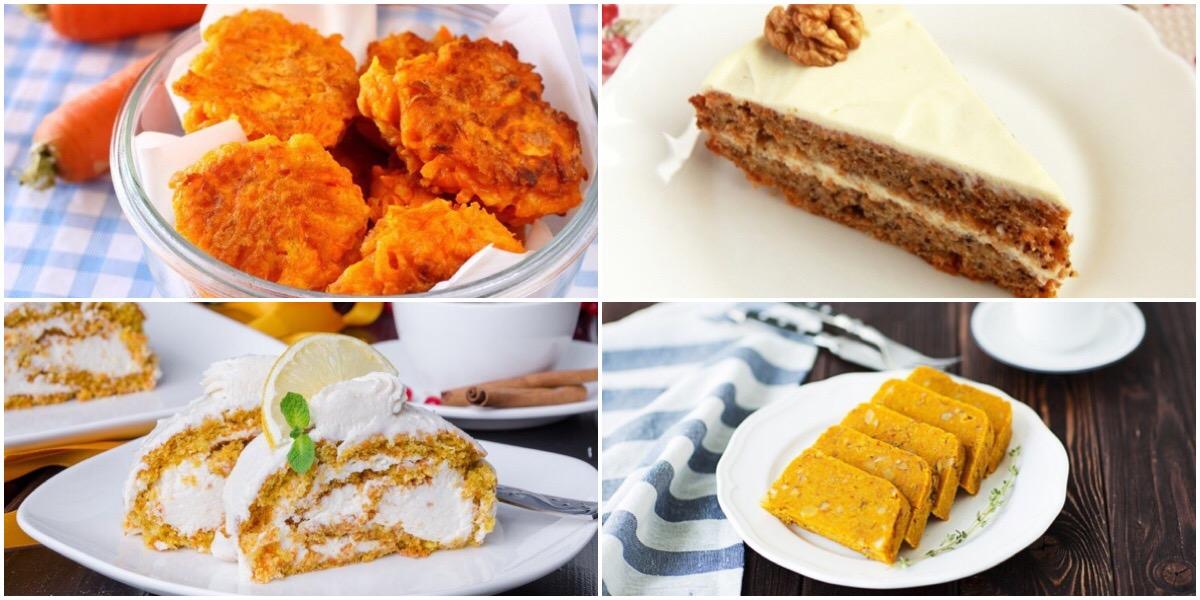 ТОП-7 морковных десертов