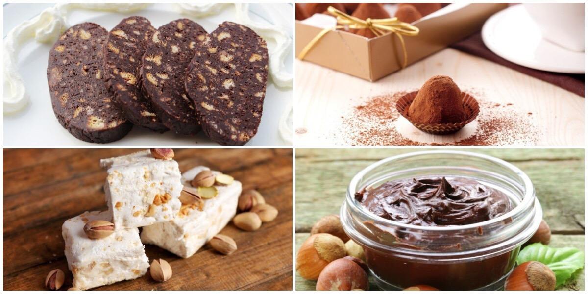 Подборка десертов с ореховым вкусом