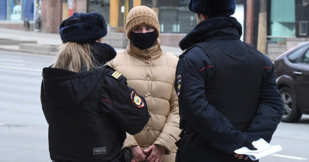 Фото МВД и мэрия договорились, как наказывать москвичей за нарушение изоляции