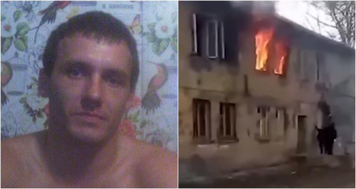 Фото Прохожий в Павлово рискнул жизнью ради спасения трех детей из огня