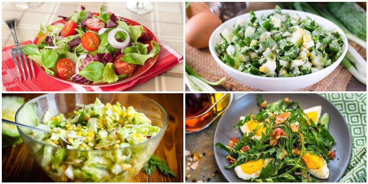7 весенних салатов на каждый день