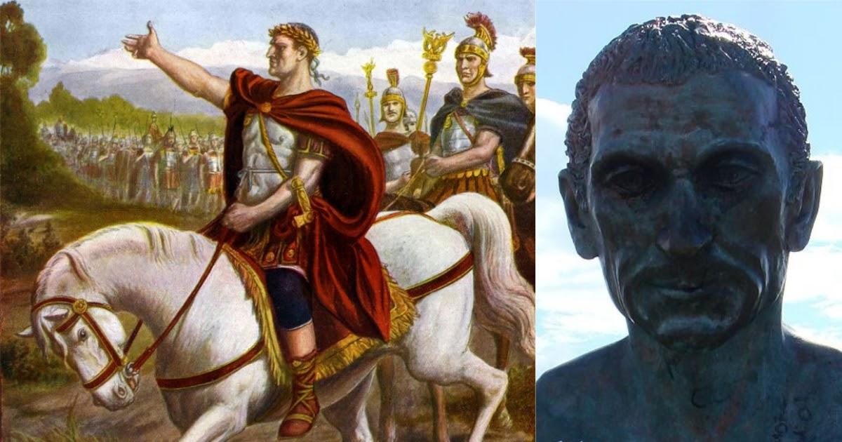 Перейти Рубикон: значение фразеологизма. Как Цезарь перешел Рубикон