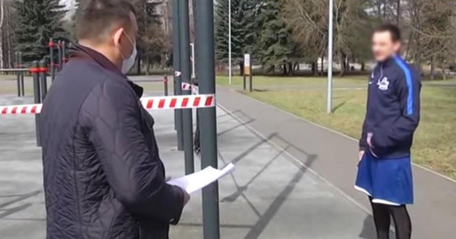 Мэр Новокузнецка показал, как его обхамил на улице нарушитель изоляции