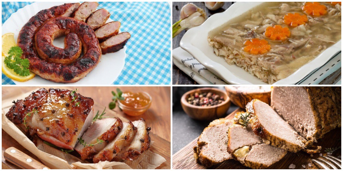 Подборка мясных блюд к пасхальному столу