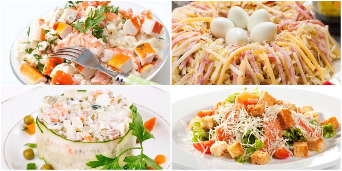 Подборка вкусных салатов к пасхальному столу