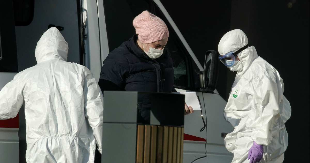 Фото 7 врачей сбежали из больницы: данные о пандемии к утру 18 апреля
