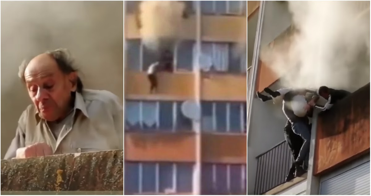 Наши в Париже: россияне спасли людей из горящего дома