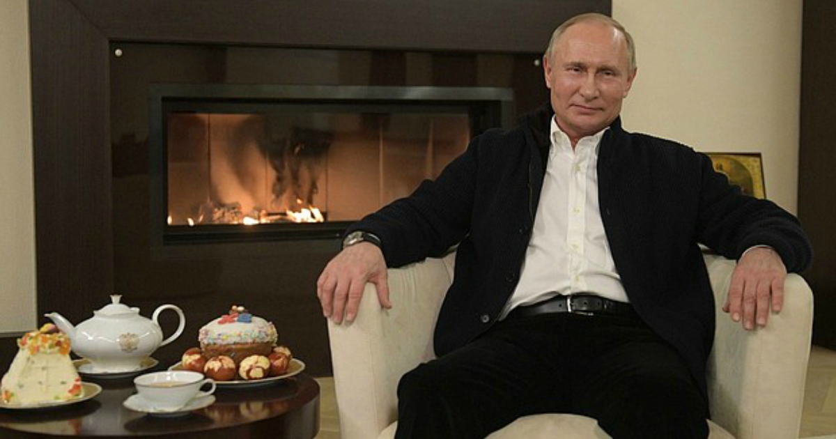 """Фото """"Деньги есть и мы их используем"""": Путин выступил с новым обращением к нации"""
