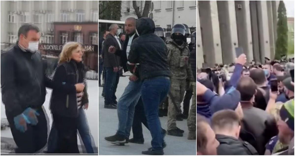 """69 человек задержаны в ходе """"коронавирусных"""" протестов во Владикавказе"""