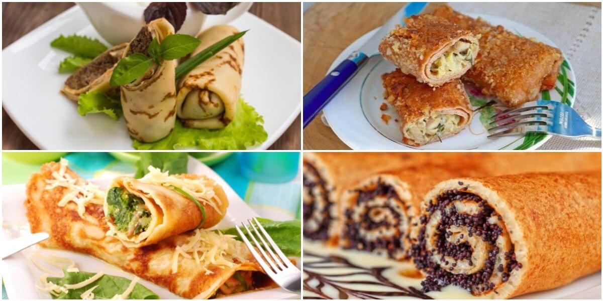 7 идей приготовления блюд из блинов