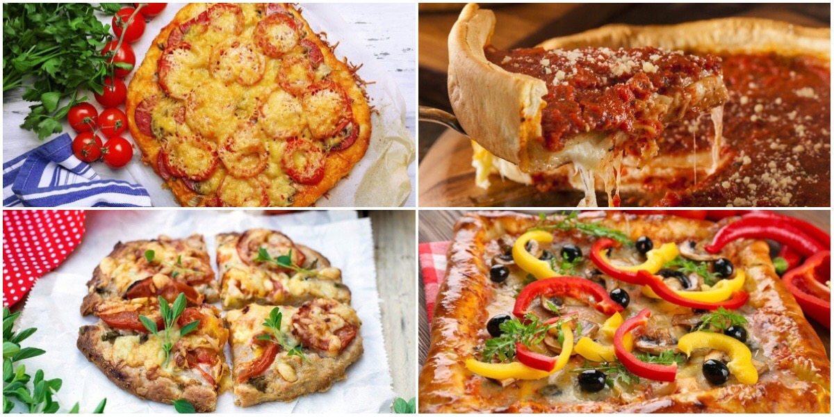 Фото 7 идей для приготовления пиццы