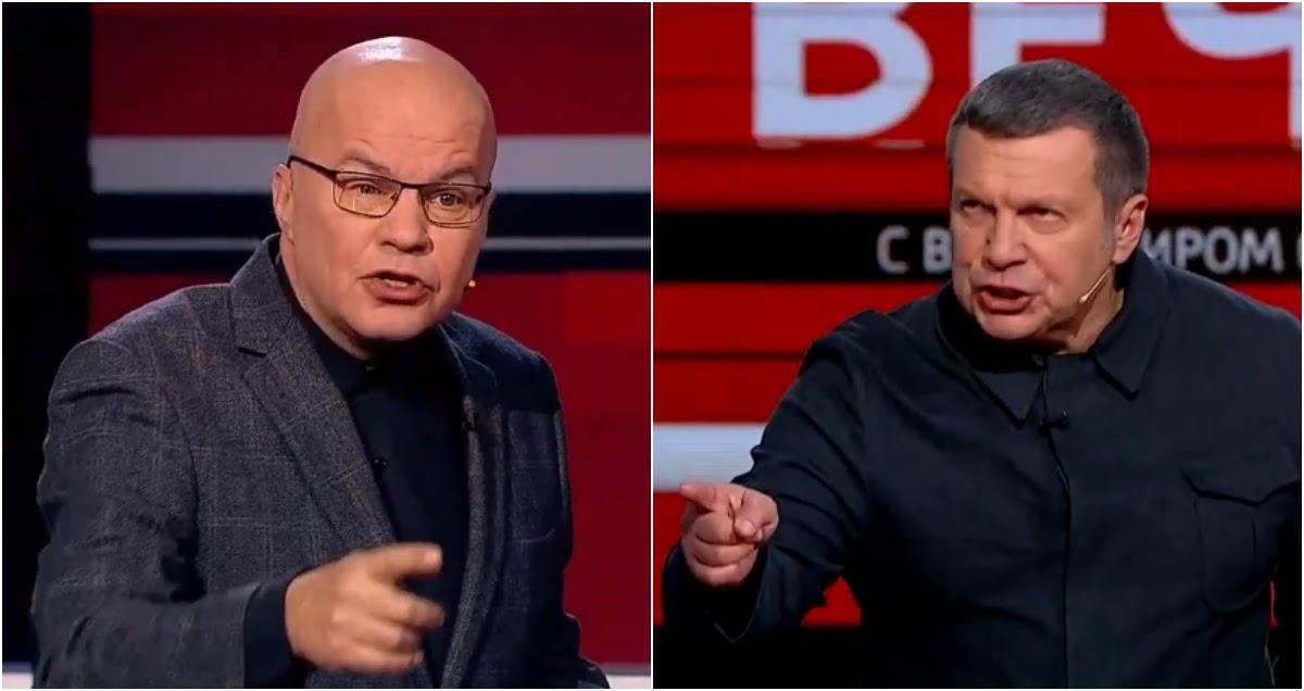 Соловьев навсегда выгнал украинского эксперта из-за бунтов во Владикавказе