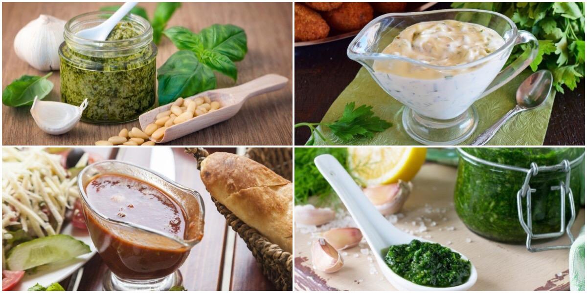 7 разнообразных видов соуса в домашних условиях