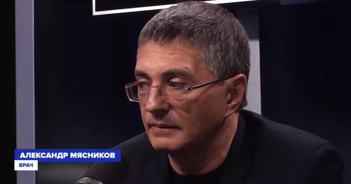 Мясников вновь признал ошибку в прогнозе и назвал сроки спада эпидемии