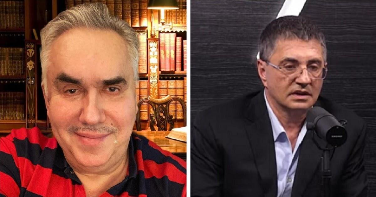Садальский высмеял доктора Мясникова за заявления о коронавирусе