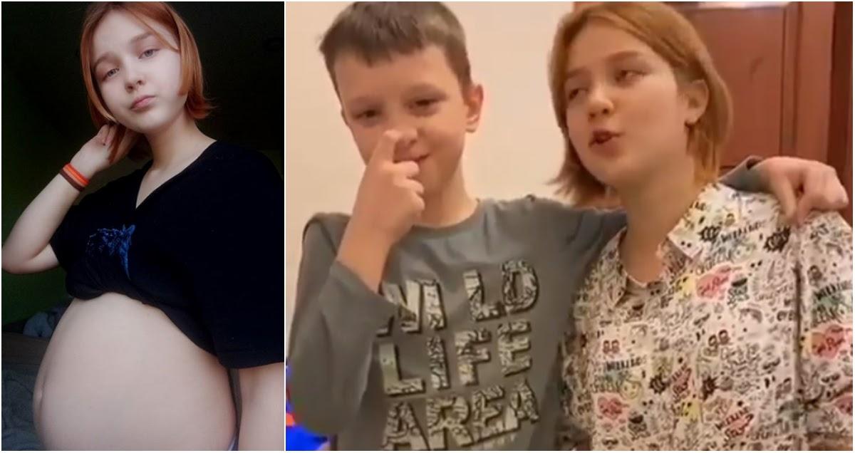 13-летняя беременная блогерша раскрыла пол ребенка