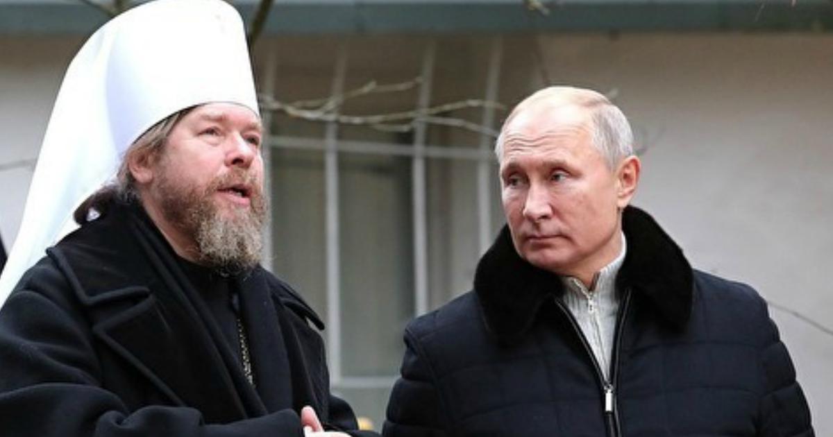 """""""Духовник Путина"""" опроверг, что у него нашли коронавирус"""