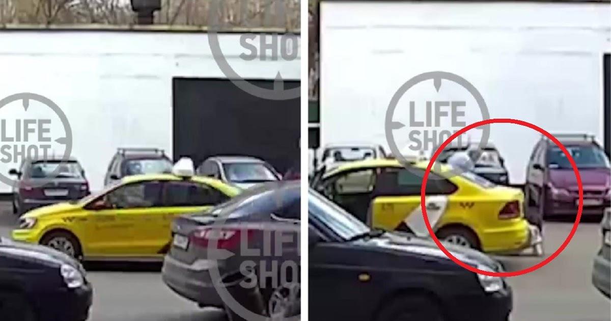В Москве таксист выкинул из машины пассажирку из-за QR-пропуска