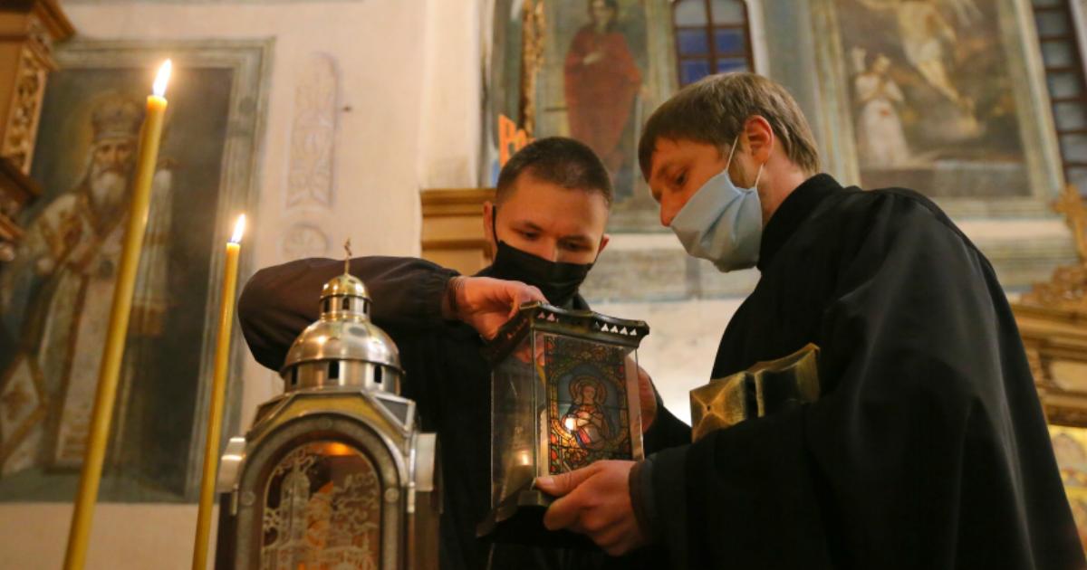 Фото Все священники Киево-Печерской лавры заразились коронавирусом
