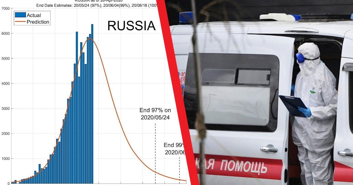 Сингапурские ученые: Россия прошла пик эпидемии, к июню выявят 99% больных