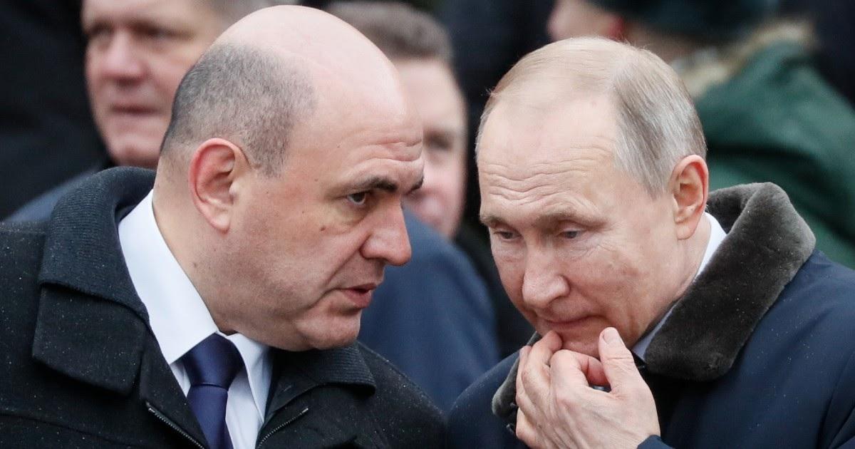 Путин назначил и.о премьер-министра из-за коронавируса у Мишустина