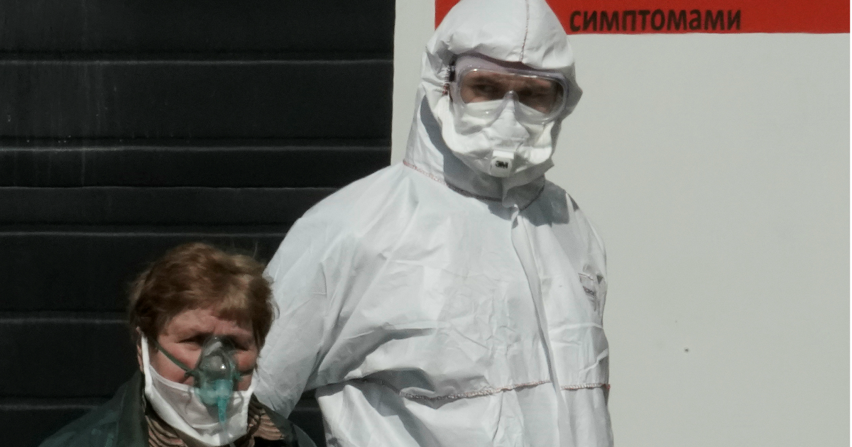 Почти сотня погибших за сутки: данные о пандемии к вечеру 1 мая