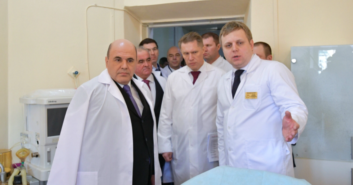 Власти рассказали о состоянии больного коронавирусом Мишустина
