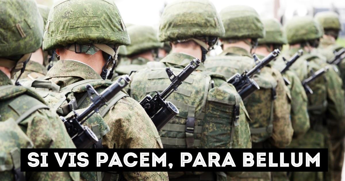Фото Хочешь мира - готовься к войне: кто это сказал и как это будет на латыни