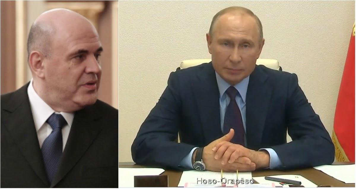 Обращение Путина к народу: президент рассказал о больном Мишустине