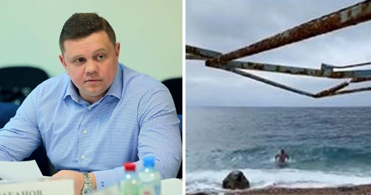 """""""Всем рекомендую"""". Вице-премьер Крыма нарушил изоляцию, купаясь в море"""