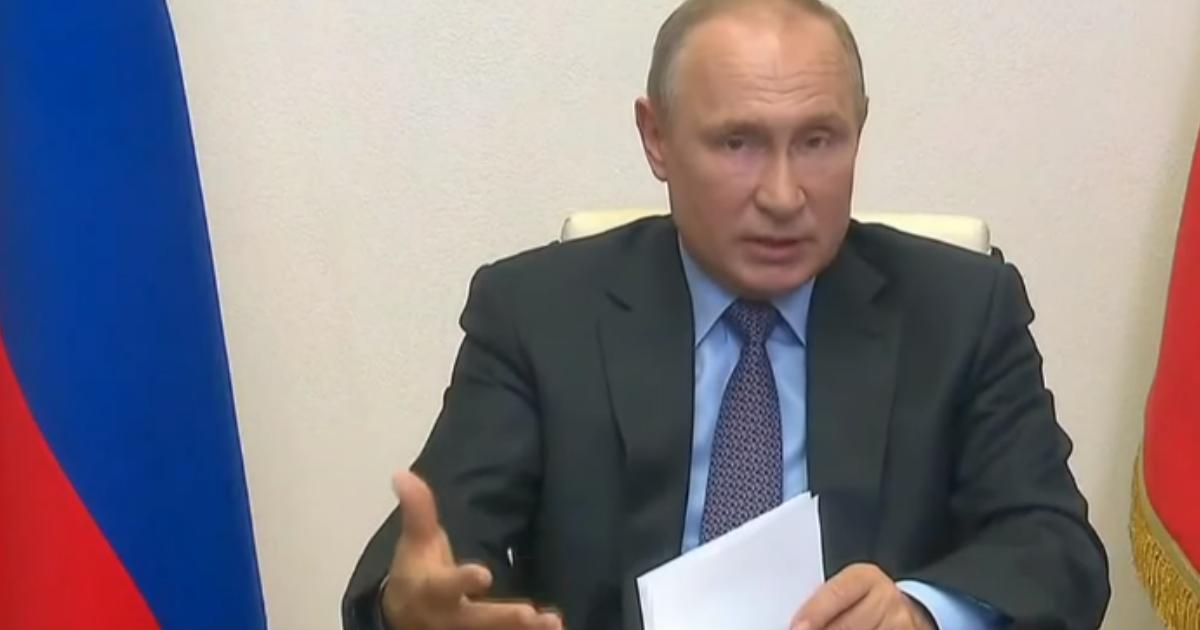 Фото Путин затруднился ответить, когда снимут коронавирусные ограничения