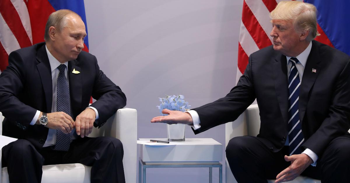 """Фото """"Он согласился"""": Трамп предложил Путину медицинскую помощь и аппараты ИВЛ"""