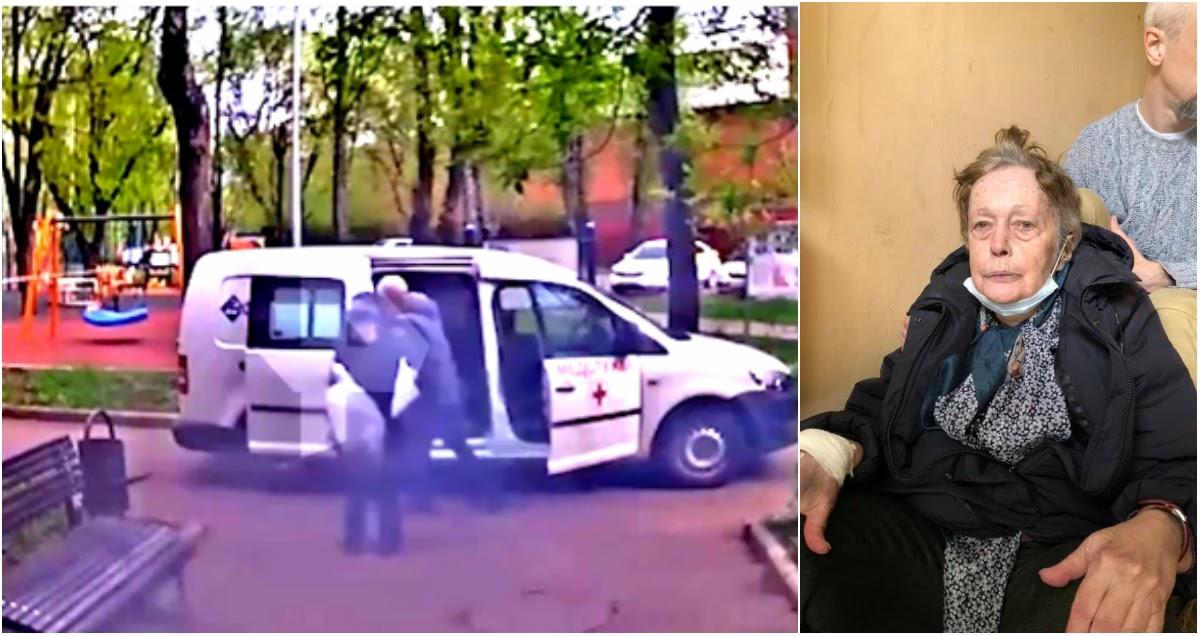 Бросили на лавочке: скорая оставила пенсионерку у подъезда в День Победы