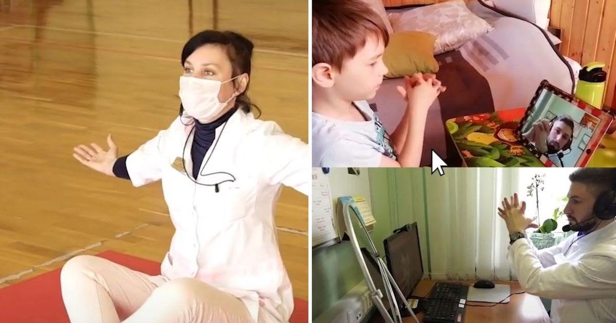 Фото Стационар на удаленке. Как реабилитологи лечат детей в условиях карантина