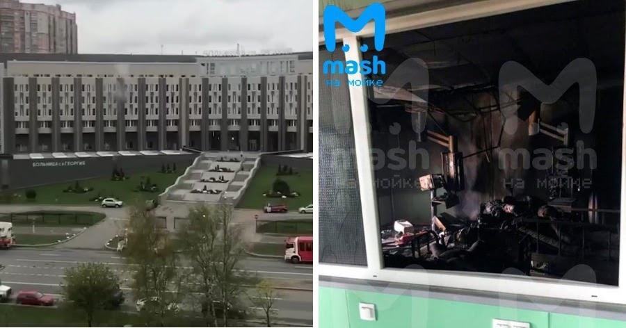 Фото Сгоревшие в Петербурге и Москве аппараты ИВЛ оказались с одного завода