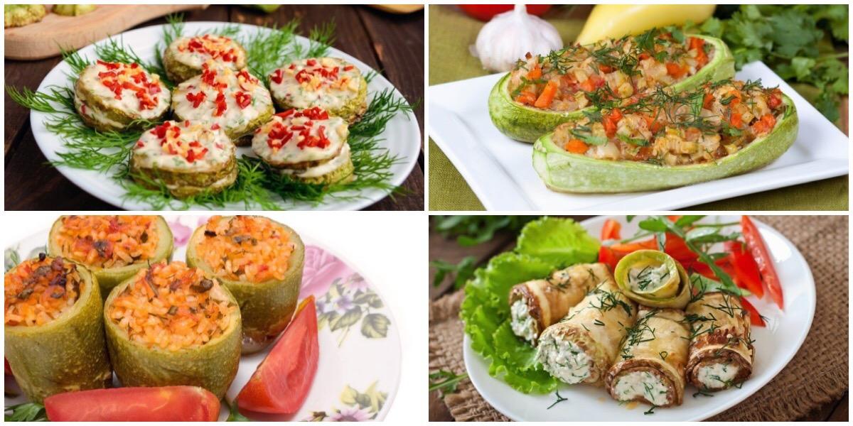 7 вкусных рецептов из кабачков