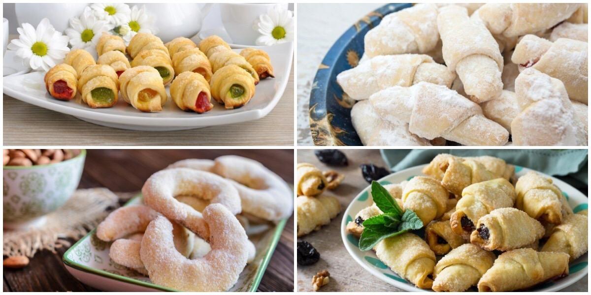 Подборка рецептов сладких рогаликов на любой вкус