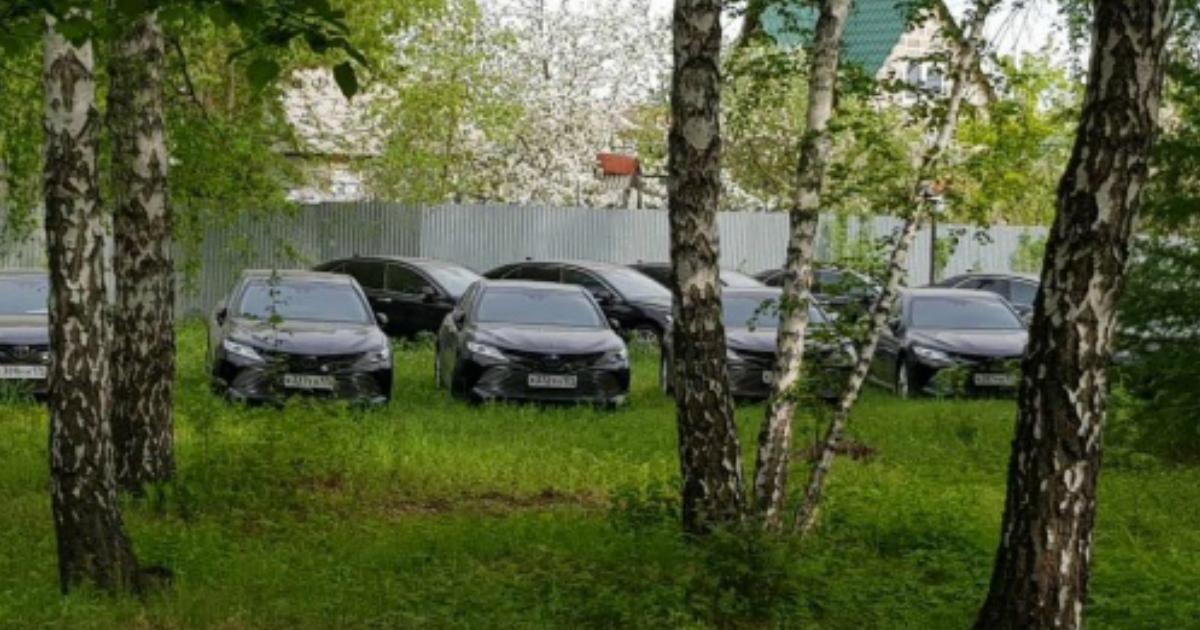 Госзакупочка: десятки новых иномарок на 120 млн нашли в лесу в Челябинске
