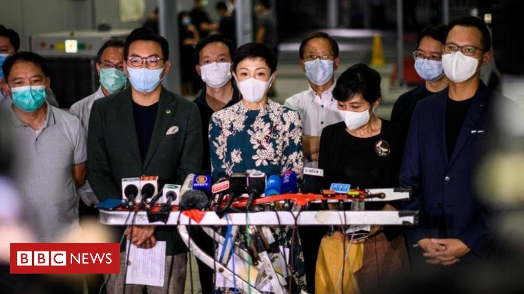 Photo of NPC: China moves to impose controversial Hong Kong security law