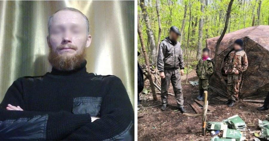 В Приморье отец с детьми прятался от коронавируса в лесу