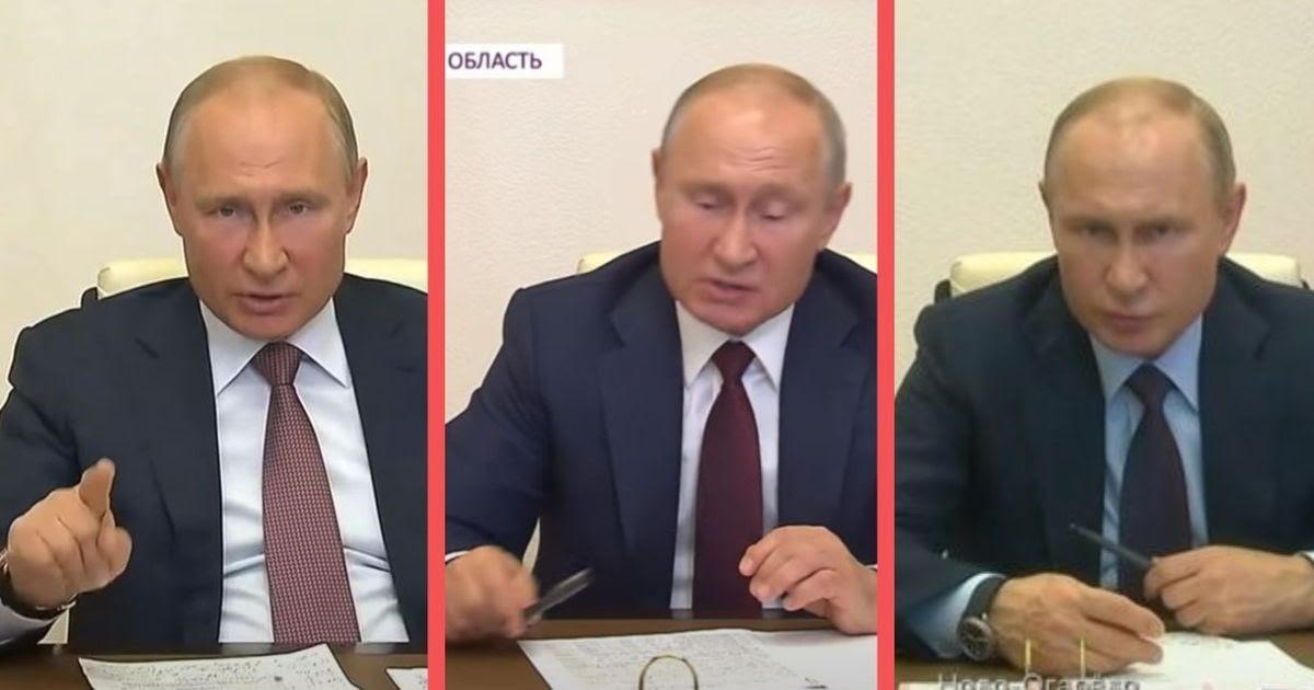 Фото Дошел до ручки. Как Путин гневается на чиновников во время эпидемии