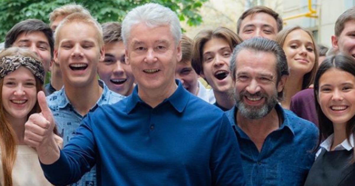 Собянин опубликовал график прогулок для всех жителей Москвы