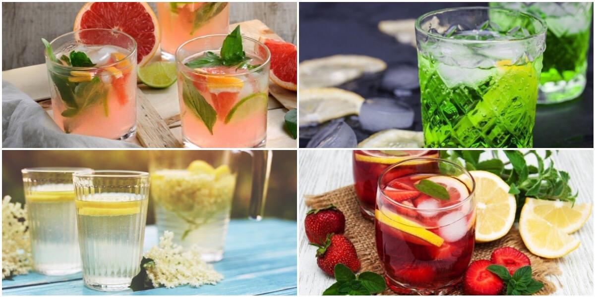 7 освежающих напитков в домашних условиях