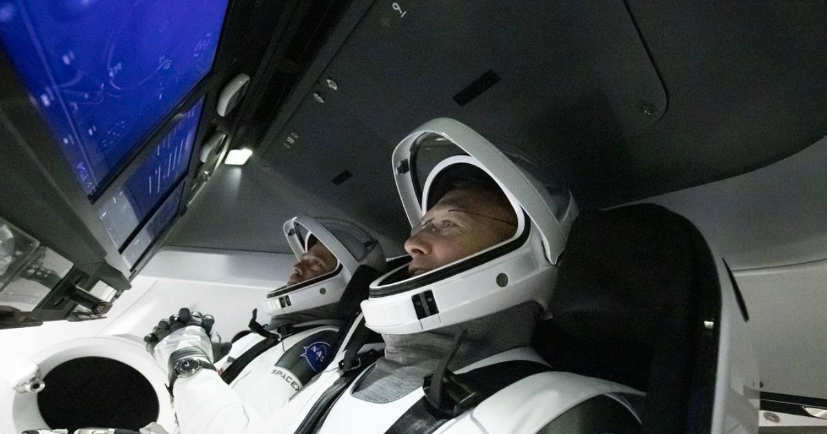 """Фото """"Прощай, Роскосмос"""": США запустили на МКС свою первую ракету за 9 лет"""