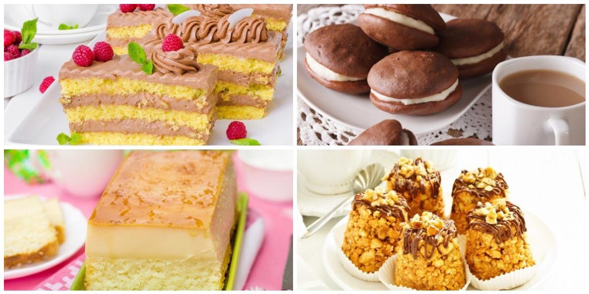 ТОП-7 рецептов вкусных и разнообразных пирожных